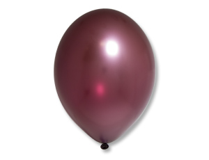 Воздушный шар Металлик Экстра Plum