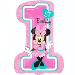 Минни Маус первый день рождения