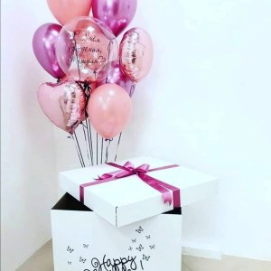Коробка-сюрприз на День Рождение