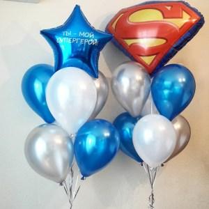 Комплект шаров Супермен