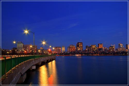 Looking toward Boston
