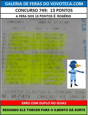 749 13P ROGERIO SBENTO