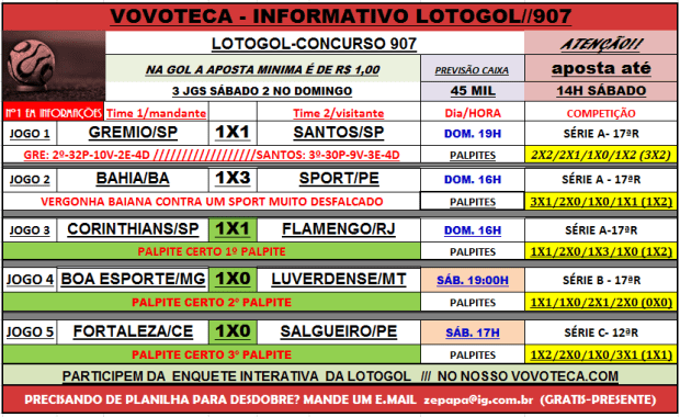 lotogol 907