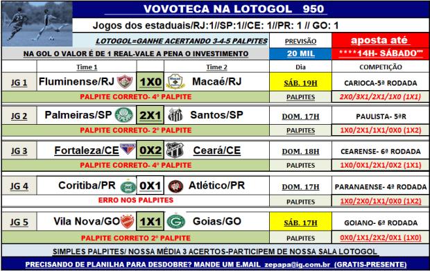 lotogol 950
