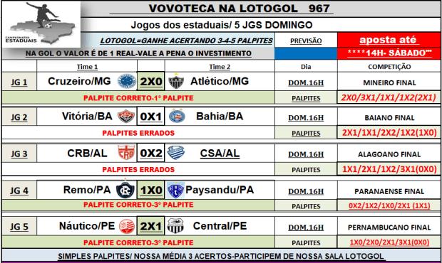 lotogol 967