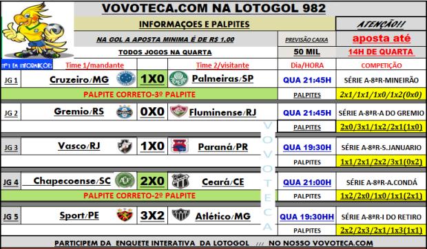 lotogol 982
