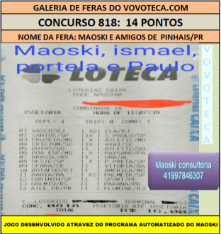 818 14P MAOSKI