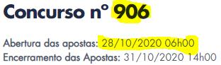 906 informações