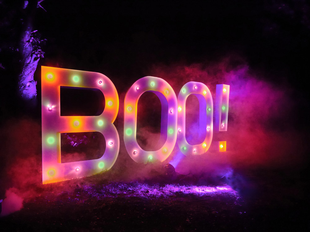 Bespoke Light Up Marquee Letters For Hire