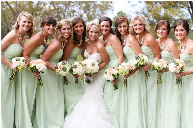 8 Hottest Colors for Bridesmaid Dresses 2015  Vowslovecom