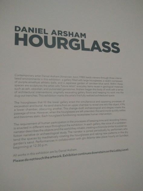 Daniel Arsham at the High