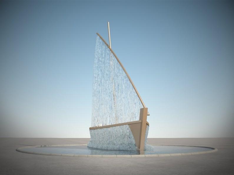 морска градина ремонт проект лодка