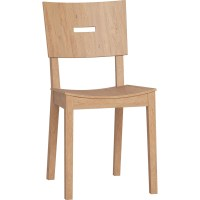 Simple Chair in Grey, Oak or White | Vox Furniture South ...