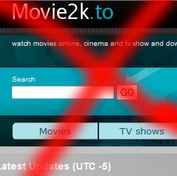 Movie 2k is shut down?