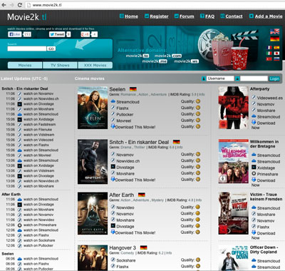 Movie2k.to falls victim to online movie pirates eating their own?