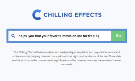 Does Chilling Effects make a mockery of the DMCA?