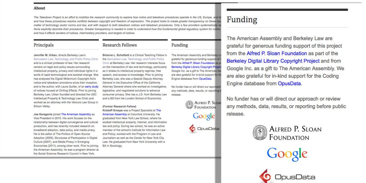 Google-funded study on copyright takedowns drops the ball