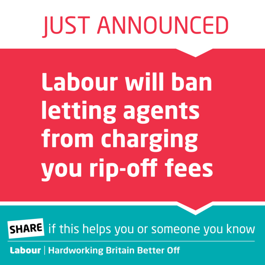 Announcement or admission: Labour's announcement, as it appeared on Facebook.