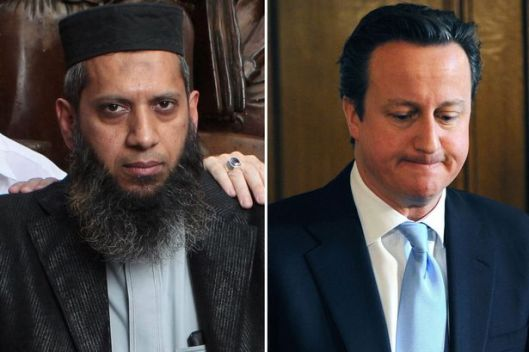 Suliman Gani and David Cameron [Image: Daily Mirror].