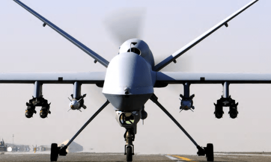 An RAF drone. Confusion over the legal framework for strikes outside warzones exposes pilots through to ministers to 'criminal prosecution' [Image: Cpl Steve Bain ABIPP/PA].