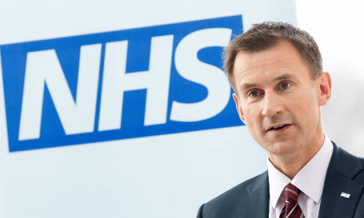 Analysis suggests budget increase is only 28th-biggest in recent NHS history, despite claims by Jeremy Hunt [Image: Neil Hall/PA].
