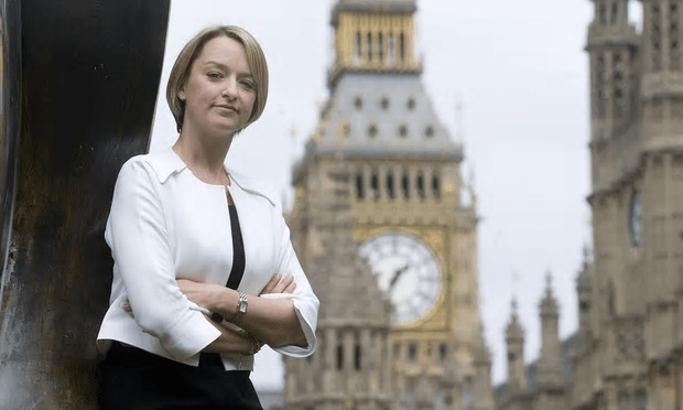 Laura Kuenssberg, target of sexist abuse in a petition questioning her impartiality [Image: REX Shutterstock].