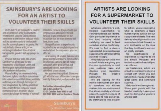 160515 Sainsbury ad backlash