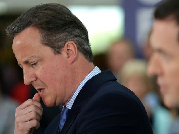 Some Tory MPs reportedly want David Cameron removed [Image: Getty].