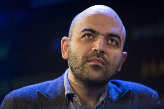 Corruption claims: Roberto Saviano said Britain was the world's most corrupt country at the Hay Literary Festival [Image: Getty Images/David Levenson].