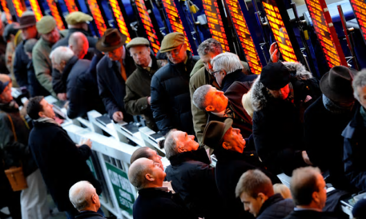 The bookies put Remain at 6-1 on [Image: Alan Crowhurst/Getty Images].