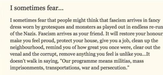 160621 Michael Rosen on Fascism