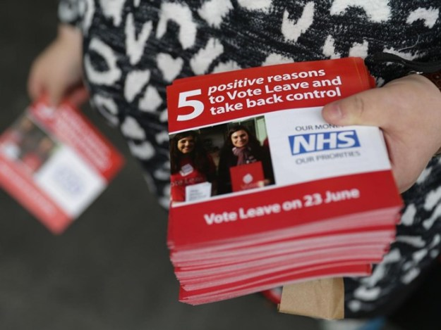 The Leave campaign has been dogged by accusations of racism [Image: Getty].