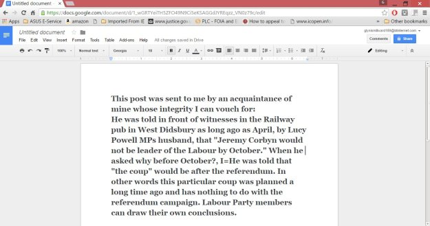 160627 Labour coup planned in April