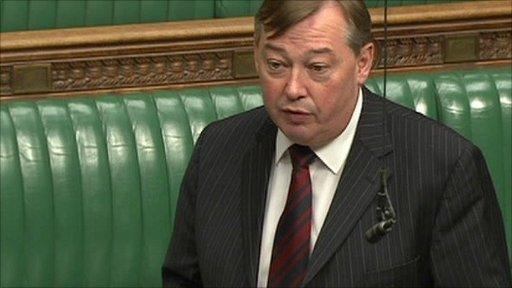 Ian Mearns MP.