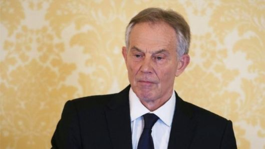 Tony Blair: Was his apology good enough? [Image: Getty Images.]