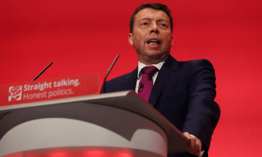 Iain McNicol: 'We cannot be divided when our mission is to unite the country.' [Image: Gareth Fuller/PA].