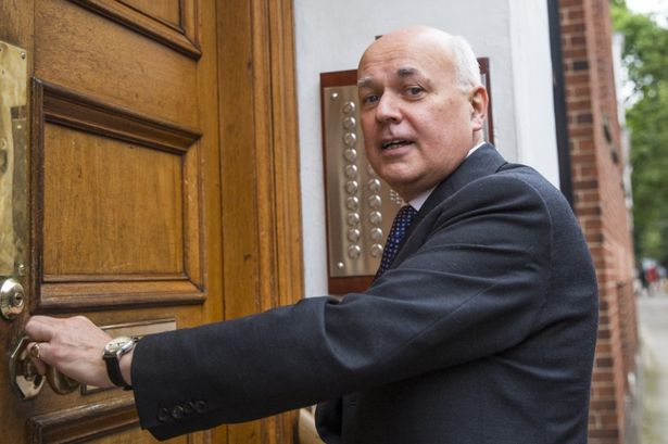 Iain Duncan Smith was the architect of the hated Bedroom Tax [Image: Jack Taylor/Getty Images].