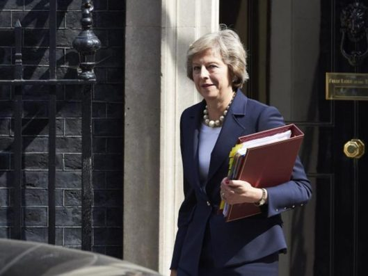 Theresa May: The new prime minister is enjoying a bounce in the polls - but for how long? [Image: AFP/Getty Images.]