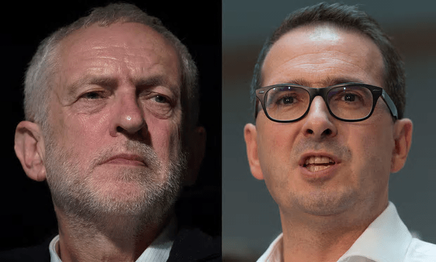 Jeremy Corbyn is being challenged by Owen Smith for the leadership of the Labour Party [Composite: The Guardian].