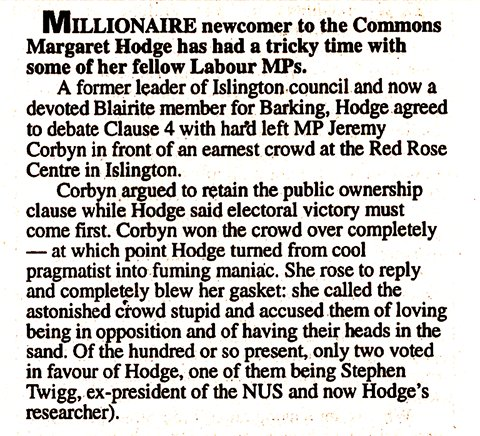 From an edition of Private Eye, published in 1995.