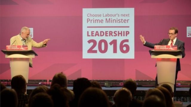 The leadership contest is between Jeremy Corbyn and Owen Smith [Image: PA].