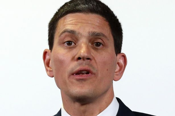 """Allegedly, """"one party figure"""" thinks David Miliband would be """"the perfect solution"""" [Image: Getty]."""