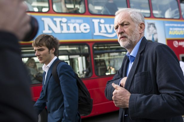 Jeremy Corbyn says nationalising railways would cut fares [Image: Dan Kitwood].