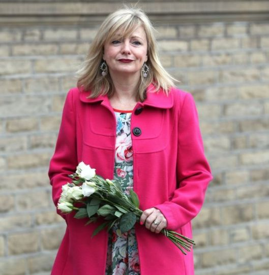 Tracy Brabin, seen here at the funeral of Jo Cox, has appeared in Coronation Street, EastEnders and Emmerdale [Image: PA].