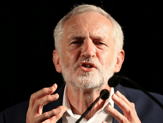 Jeremy Corbyn campaigned far more effectively for the UK to remain in the EU than current prime minister Theresa May. Why is he taking all the criticism? [Image: Jane Barlow/PA].