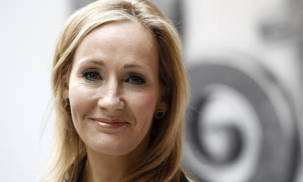 JK Rowling has long been a critic of Jeremy Corbyn, according to the Graun [Image: Suzanne Plunkett/Reuters].