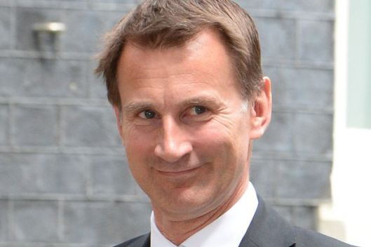 Jeremy Hunt is no Nye Bevan, says Diane Abbott [Image: Phil Harris/Daily Mirror].