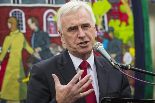 John McDonnell: 'I think we've got a long way to go in developing the proposal and the argument but I think we can win the argument on it' [Image: Getty].