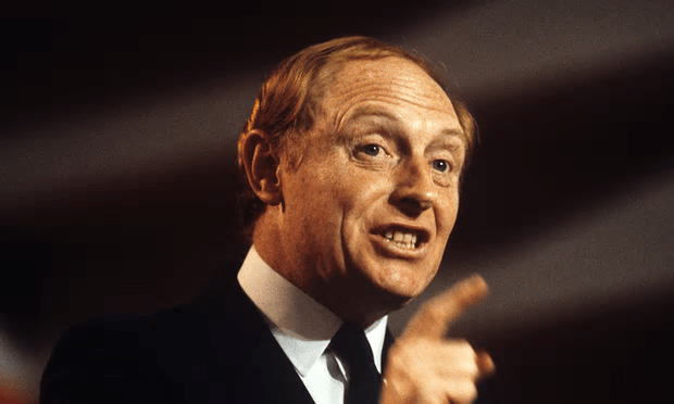 Neil Kinnock: When he was Labour leader, he made a concerted effort to take the party away from its roots and select 'more and more middle-class candidates' [Image: John Curtis/Rex Shutterstock].