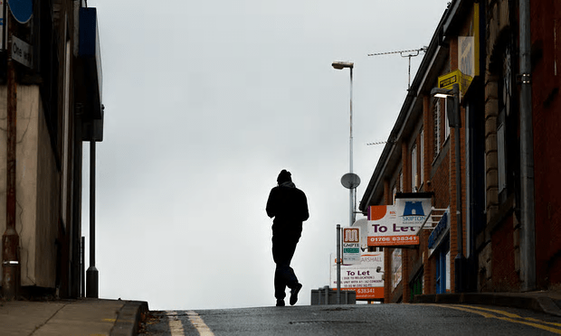 """""""My time as a council benefits officer would be better spent explaining the convoluted welfare system to those receiving housing benefit."""" [Image: Christopher Thomond for the Guardian.]"""